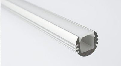 Perfiles de aluminio para luces led argitronik - Perfil de aluminio precio ...